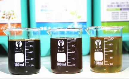 稼乐夫水溶肥溶解于水中无杂质