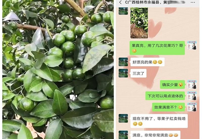 广西桂林永福县代理商黄经理